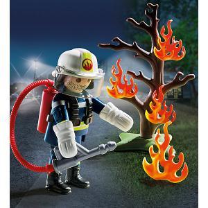 Набор Playmobil Пожарник с деревом PLAYMOBIL®
