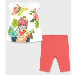 Комплект для девочки (футболка, леггинсы) 1711 Mayoral