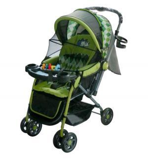 Прогулочная коляска  LK- 216, цвет: зеленый Little King