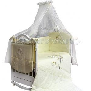 Комплект в кроватку  Совушки (6 предметов) Labeille
