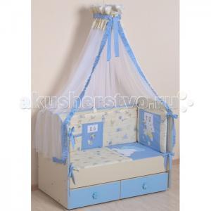 Комплект в кроватку  Соня (7 предметов) Селена (Сдобина)