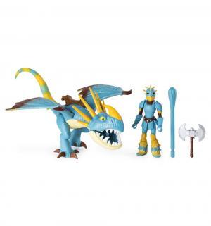 Игровой набор  Астрид и Громильда 17 см Dragons