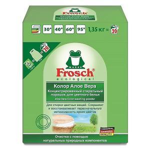 Стиральный порошок  Колор Алоэ Вера для цветного белья, 1,35 кг Frosch
