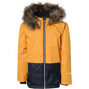 Утепленная куртка Name it. Цвет: желтый