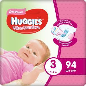 Подгузники  Ultra Comfort (5-9 кг) шт. Huggies