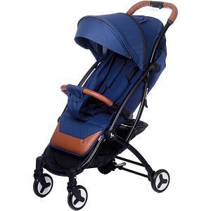 Прогулочная коляска Acarento Plaza, тёмно-синий лён Baby Hit. Цвет: темно-синий