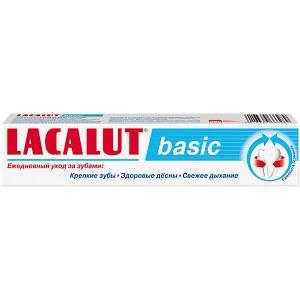 Зубная паста  Basic Комплексная защита, 75 мл Lacalut