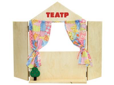 Набор Ширма для кукольного театра Краснокамская игрушка