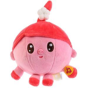 Мягкая игрушка Мульти-Пульти Малышарики Нюшенька, озвученная, 10 см. Цвет: розовый