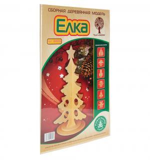 Деревянный конструктор  Новогодняя елка Wooden Toys