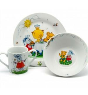 Набор  фарфоровой посуды Maman
