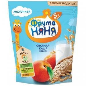 Каша  молочная овсяная с персиком 5 месяцев 200 г ФрутоНяня