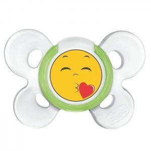 Пустышка  Physio Comfort Smile силикон, с 6 мес Chicco