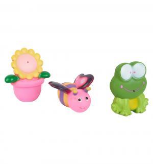 Игрушка для ванной  лягушка, цветочек, цветочек в гаршочке Игруша