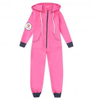Комбинезон , цвет: розовый Bambinizon