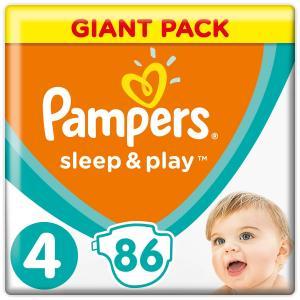 Подгузники  Sleep&Play (9-14 кг) шт. Pampers