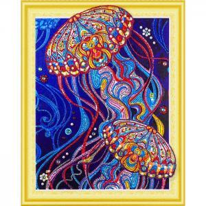 Алмазная картина с фигурными стразами Сокровища океана Color Kit