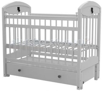 Детская кроватка  - 3 автостенка маятник продольный Briciola