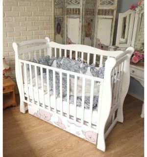 Кровать  Sweet Bear, цвет: белый Amarobaby
