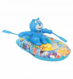 Игрушка для ванны  Мишка в лодке Красный Игруша