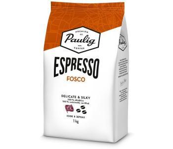 Кофе Espresso Fosko зерно 1 кг Paulig