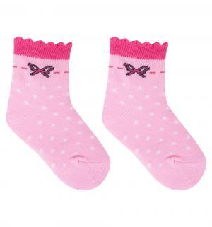 Носки, цвет: розовый Fenice