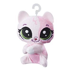Мягкая игрушка-прилипала Little Pet Shop, Котёнок Hasbro