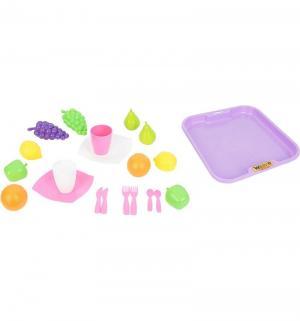 Игровой набор  №2 с посудкой и подносом Palau