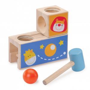 Деревянная игрушка  Стучалка с шариком Сафари Wonderworld