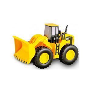 Машина CAT Строительная  техника: Трактор Toystate. Цвет: желтый