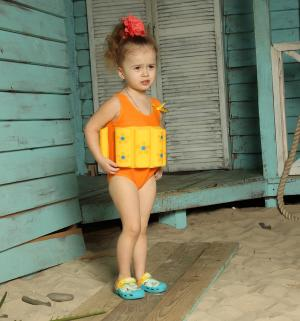 Купальник , цвет: желтый Baby Swimmer