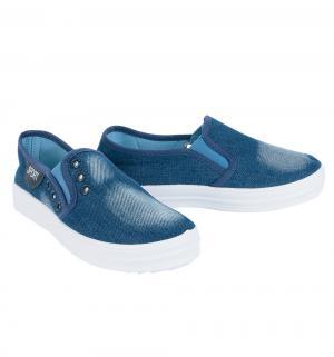 Слипоны , цвет: голубой Чипполино