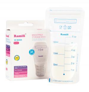 Пакеты  для хранения грудного молока, 20 шт Ramili Baby