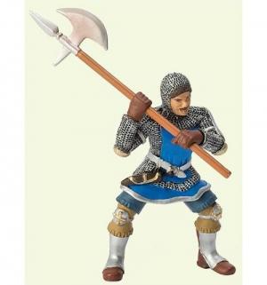Рыцарь с секирой в синем доспехе 8 см Bullyland