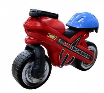 Каталка  мотоцикл MOTO MX со шлемом Coloma