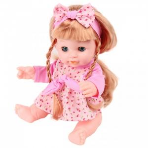 Кукла-Пупсик с длинными волосами озвучен 35 см 72292 Lisa Jane