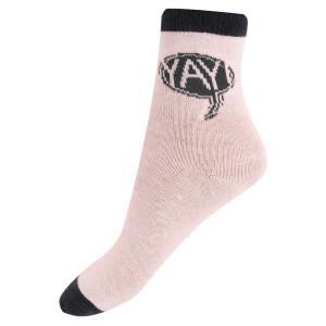 Носки  YAY, цвет: розовый Crockid