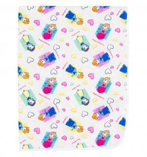 Наматрасник  непромокаемый из микрофибры с рисунком 60х120 см, 1 шт, цвет: бежевый Multi-Diapers