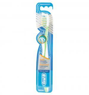 Зубная щетка  Pro-Expert средняя жесткость, цвет: салатовый Oral-B