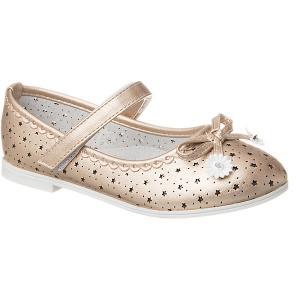 Туфли  для девочки Vitacci. Цвет: золотой