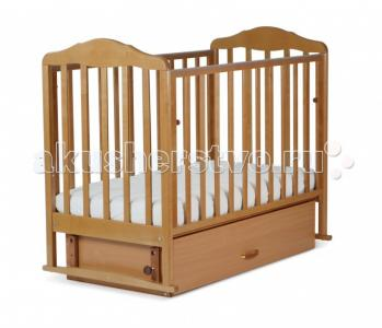 Детская кроватка  Березка 17200 поперечный маятник СКВ Компани