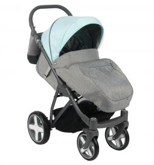 Прогулочная коляска  iX, цвет: голубой/серый Bexa Poland
