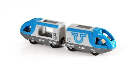 Пассажирский поезд  Экспресс с машинистом деревянной железной дороги Brio