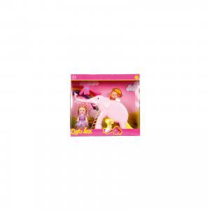 Набор из 2-х кукол В зоопарке, 11 см, 14 Defa Lucy