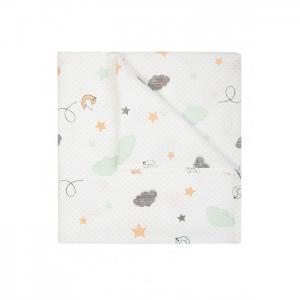 Пеленка  муслиновая Птички Сонный гномик
