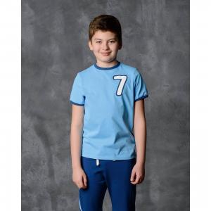 Футболка для мальчика Modniy Juk. Цвет: голубой