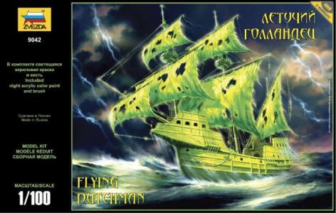 Модель Корабль-призрак Летучий голландец Звезда