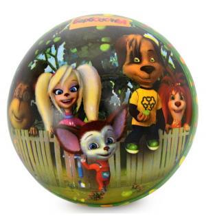 Мяч  Барбоскины зеленый 23 см Яигрушка