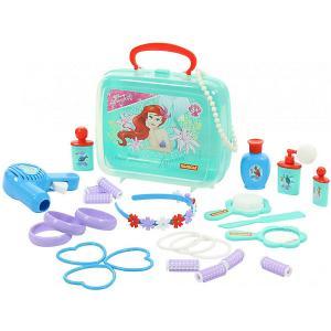 Набор в чемоданчике Disney Ариэль - Cтань принцессой! , 26 предметов Polesie