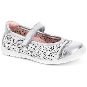 Туфли  для девочки Pablosky. Цвет: белый